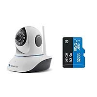 Camera IP Wifi VStarcam C38s 2.0 - Full HD 1080p , Lắp trong nhà , camera không dây , Kèm thẻ nhớ 32GB A1 Lexar  - Hàng chính hãng