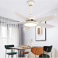 Quạt trần đèn trang trí phòng khách đẹp hiện đại - HLFAN089
