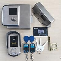 Khóa cổng điện tử vân tay - thẻ từ SG-1300
