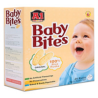 Bánh Ăn Dặm Vị Gạo BABY BITES ( 50 g)