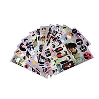 Vương Nhất Bác bộ hình dán 12 tấm sticker