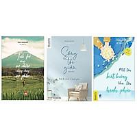 Sách - Combo : Sống tối giản - Tuổi trẻ sống an nhiên nhưng đừng an phận - Một lần biết buông vạn lần hạnh phúc