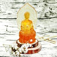 Tượng Phật A Di Đà Lưu Ly - Nội Thất Xe - Bình An - An Lành - Gặp Nhiều May Mắn