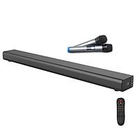 Bộ Sản Phẩm Hát Karaoke Gia Đình Loa Soundbar 5.1 Bluetooth A5 Tặng Kèm 2 Micro Không Dây Cao Cấp
