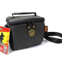 Túi Đựng Máy Ảnh Mirrorless Canon, Nikon, Fujiflim...Baroca CA805 ( Grey )