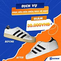 HCM [E-voucher] Giảm 30K cho dịch vụ phục hồi/ sửa chữa/ bảo vệ giày bất kì tại Extrim