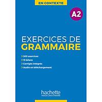 Sách học tiếng Pháp: En Contexte : Exercices de grammaire A2