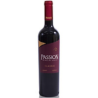 Rượu Vang Đỏ Passion Classic 750ml 13% Không hộp