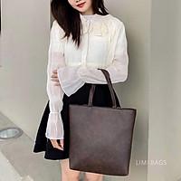Túi Tote Da cho Nữ Limi Bags xách tay đeo chéo phù hợp công sở đi học cỡ lớn vừa A4 túi xách CHERRY sỉ lẻ toàn quốc