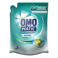 Nước Giặt OMO Matic Khử Mùi Cho Máy Giặt Cửa Trên (2.3Kg/Túi)