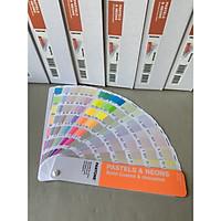 Bộ pantone màu dạ quang, noen dành cho ngành in ấn, bao bì GG1504A - Pastels & Neons Guide | Coated & Uncoated