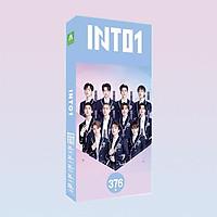 Postcard hộp ảnh in hình INTO1 Chuang 2021 Sáng Tạo Doanh 4 idol thần tượng quà tặng độc đáo
