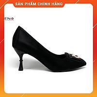 Giày công sở nữ ️ HT.NEO ️ da lộn trẻ chung gót trụ kiểu mới siêu xinh hàng cao cấp 2021 mix đồ dễ dàng cực sang CS150