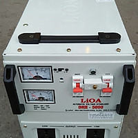 Ổn áp lioa 5kva model DRII - 5000II