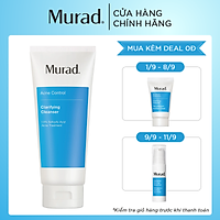 Sữa Rửa Mặt Cho Da Mụn Murad Acne Control Clarifying Cleanser 200ml