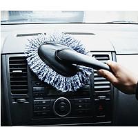 Cây chổi sợi lau nội thất ngoại thất xe hơi ô tô siêu sạch (Giao màu ngẫu nhiên)
