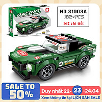 Bộ đồ chơi xếp hình xe đua ô tô KAVY model 31003 và 31005 hơn 160 chi tiết sáng tạo độc đáo