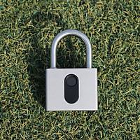 Ổ khóa thép cỡ lớn mở bằng vân tay hoặc App điện thoại GS-60FB chống nước chống phá khóa