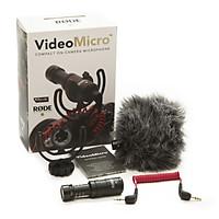 Micro Cho Máy Ảnh Rode VideoMicro - Hàng Chính Hãng