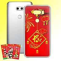 Ốp lưng điện thoại LG V30 - 01253 7972 PHUC04 - Tặng bao lì xì Cung Chúc Tân Xuân - Silicon dẻo - Hàng Chính Hãng