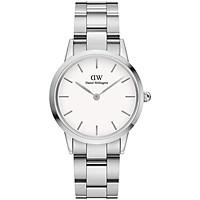 Đồng hồ nữ Daniel Wellington Iconic Link Silver White 32mm DW00100205