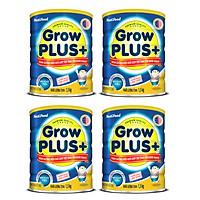 BỘ 4 LON SỮA BỘT GROWPLUS+ DINH DƯỠNG HIỆU QUẢ GIÚP TRẺ TĂNG CÂN KHỎE MẠNH - LON 1.5KG