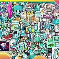 Sticker Dán Nón Bảo Hiểm, Sticker Dán Laptop |50 Sticker Dán BMO