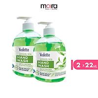 Combo 2 Nước rửa tay Vedette hương Trà xanh