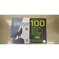 combo 2 cuốn sách:100 phương pháp truyền động lực cho đội nhóm chiến thắng + leadership dẫn dắt bản thân và đội nhóm vươn xa