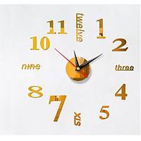Đồng hồ dán tường 40x40