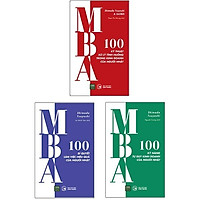Bộ Sách MBA - 100 Kỹ Năng Cơ Bản Làm Việc Của Người Nhật (Bộ 3 Cuốn)