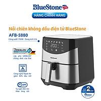 Nồi Chiên Không Dầu Điện Tử BlueStone AFB-5880 (5,5 Lít) - Hàng Chính Hãng