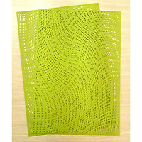 COMBO 2 MIẾNG LÓT PHẦN ĂN PAULEE - FY 301 SỌC XANH (45 x 30 cm).