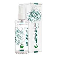 Nước Hoa Hồng Trắng Bulgary Hữu Cơ (Rose Alba) - Organic Bulgarian White Rose Water