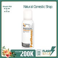 Xịt dưỡng Elfa Pharm Panthenol làm dịu, tái tạo da với phức hợp vitamin A, E, F, 150ml