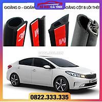 Combo chống ồn gioăng cao su chống ồn cho xe hơi Sedan (Gioăng D, P, Z, B lõi thép) chống ồn xe ô tô cao cấp