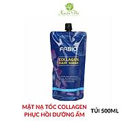Dầu hấp ủ tóc Collagen FABIO 500ml bổ sung dưỡng chất cho tóc sau khi nhuộm, uốn, ép