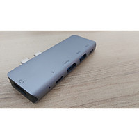 Hub Usb Type-c ra 5 cổng cho Macbook M1 2020
