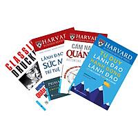 Combo 4 Cuốn: Bộ Sách Lãnh Đạo Của Harvard