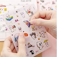 Bộ 6 Sticker, Hình Dán Dùng Để Trang Trí (Mẫu Ngẫu Nhiên)