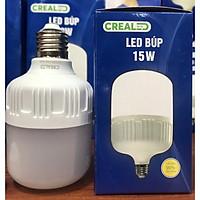 led búp nhựa 15w thương hiệu CREALED ,tiết kiệm điện, bảo vệ mắt, tuổi thọ cao ,hàng chất lượng tốt,chip led bền