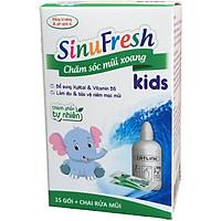 SinuFresh Kids (Muối rửa mũi xoang trẻ em. Hàng chính hãng)