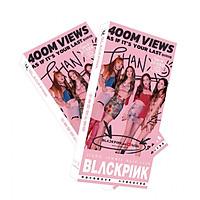 Bộ Postcard BLACK PINK mới (Tặng móc khóa gỗ thiết kế độc quyền)