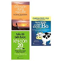Combo 3 Cuốn Sách Làm Thay Đổi Cuộc Đời Bạn: Đời Ngắn Đừng Ngủ Dài (Tái Bản) + Nếu Tôi Biết Được Khi Còn 20 (Tái Bản) + Ngày Xưa Có Một Con Bò... / Tặng Kèm Bookmark Thiết Kế Happy Life