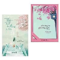 Combo Truyện Ngôn Tình Đặc Sắc: Thất Tịch Không Mưa + Yêu Đúng Lúc, Gặp Đúng Người (Bộ 2 Cuốn Sách Được Độc Gỉa Yêu Thích Nhất / Tặng Kèm Bookmark Happy Life)