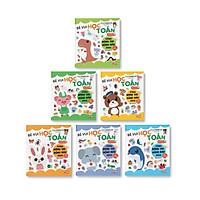 Sách Sticker - Bé vui học toán cùng động tay động não nào!
