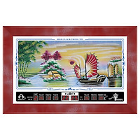 Đồng hồ lịch vạn niên Vịnh Hạ Long Trọng Tín 8012-8