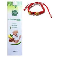 Kem Tan Mỡ Hera Sliming Cream 100ml + tặng kèm vòng Phong Thủy cực chất