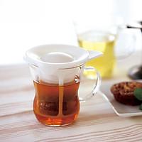 Ly thủy tinh lọc trà Hario 200ml