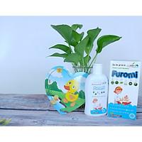 (04h)Sữa Tắm Gội Cho Bé Furomi 250ml từ 100% dược liệu thiên nhiên giúp làm sạch da, mềm da và tóc hàng ngày cho trẻ, hoàn toàn không gây cay mắt, phòng ngừa rôm rảy, viêm da
